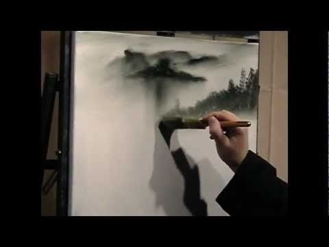 Learn To Paint SNOWY DAYS FREE PAINTING LESSON