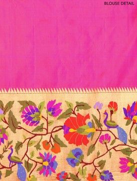paithani sarees with peacock and parrot designs - Google Search