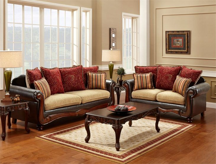 Traditional Wooden Sofa Design