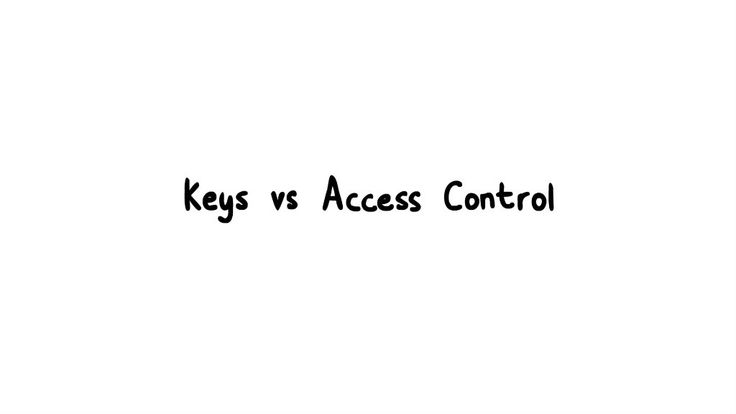 Paxton Animation - Keys vs Cards - Total Access Control Keyless Door Entry Systems.