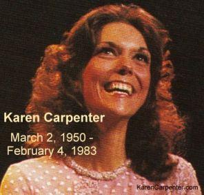 Karen Carpenter Death Photo | 30th anniversary of the death of Karen Carpenter