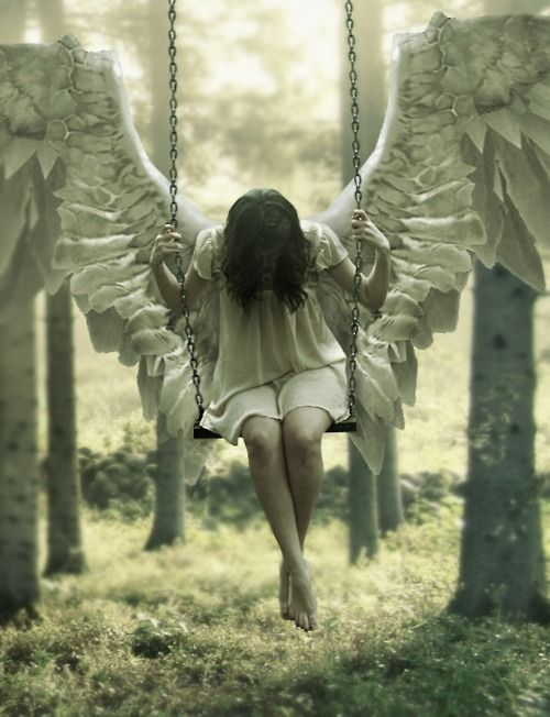 Death makes angels of us all and gives us wings where we had shoulders smooth as ravens claws.