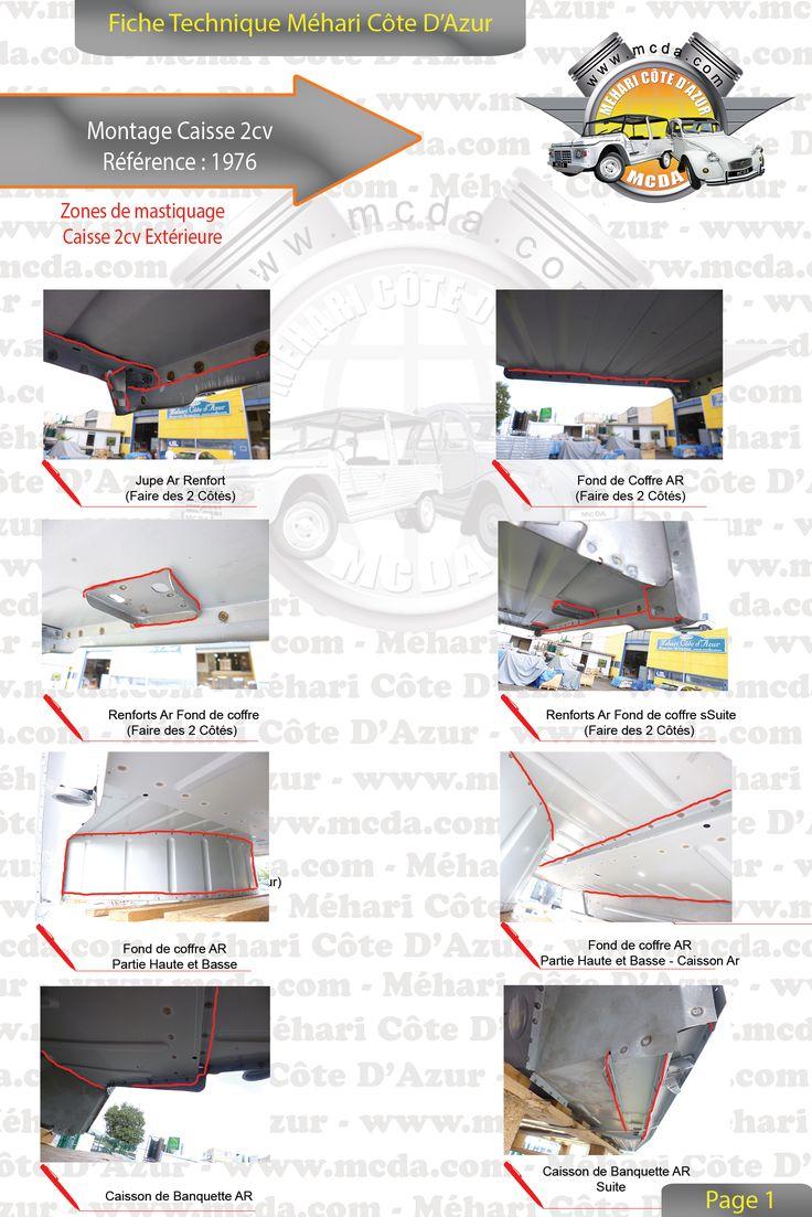 21 best notices de montage 2cv images on pinterest for Montage piece auto garage