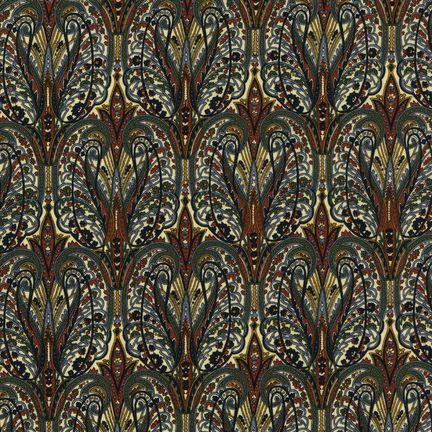 Robert Kaufman Fabrics: EG-4815-4 ANTIQUE from Jardin Nouveau
