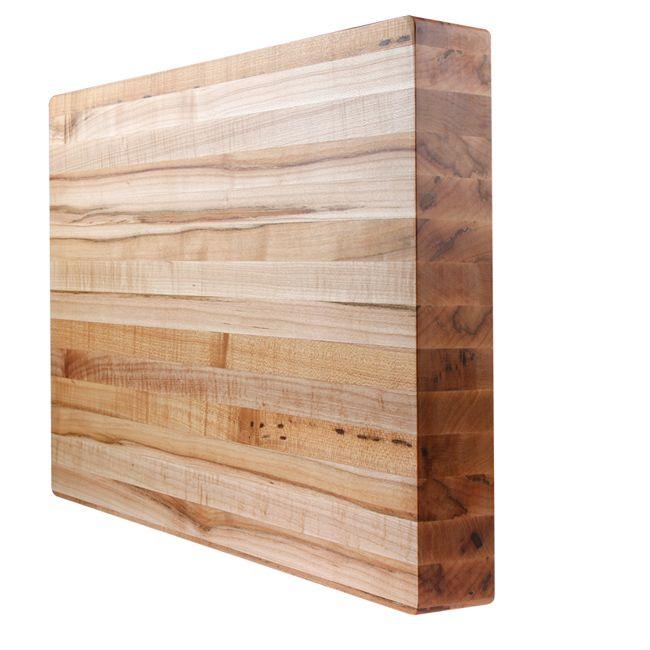 Kobi Michigan Maple Butcher Block Cutting Board   Overstock.com Shopping - The Best Deals on Cutting Boards