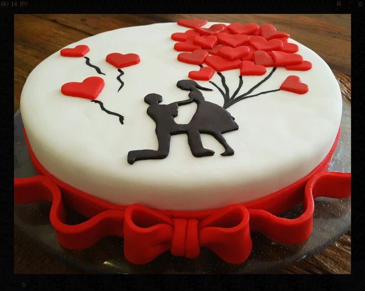 Engagement cake - Petit Petit by Renata Fantini