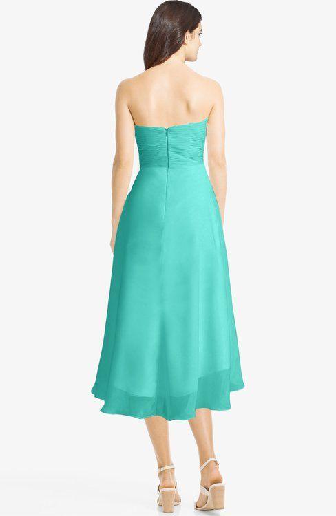 Classic Sweetheart Sleeveless Zip up Hi-Lo Plus Size Bridesmaid Dresses