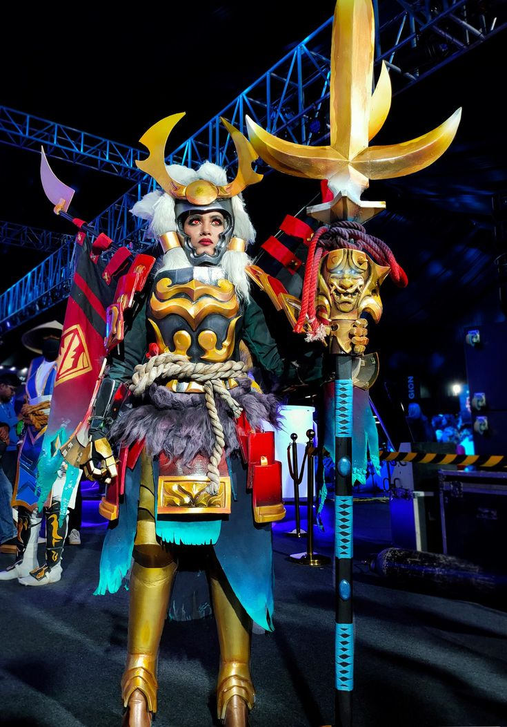 [self] Legion Commander Cosplay from Dota 2 #cosplay http ...