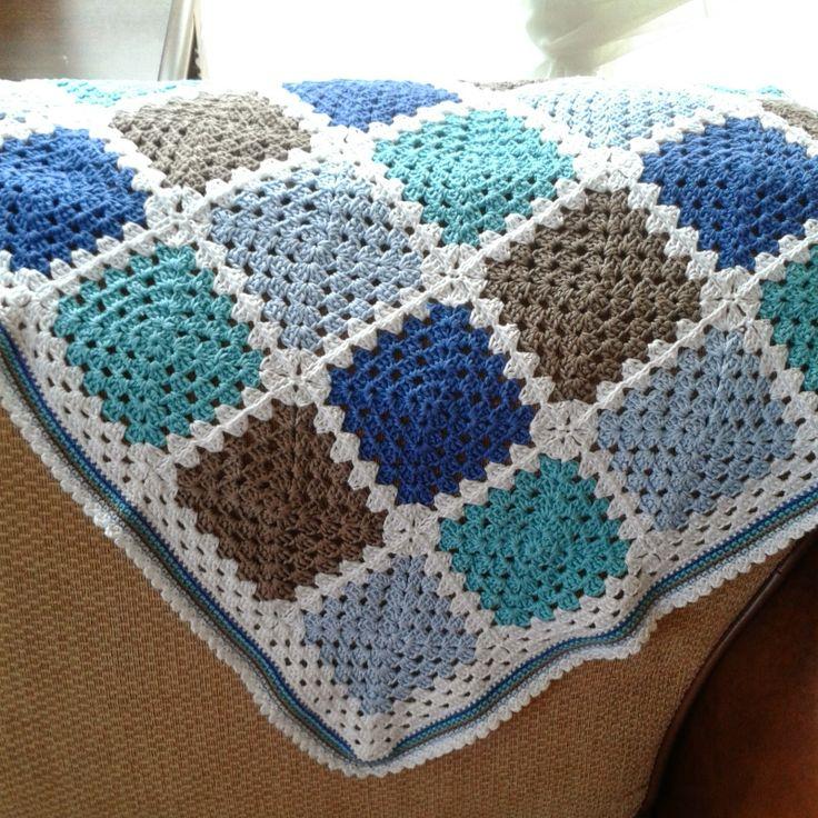 Haken - Babydeken Crochet baby blanket