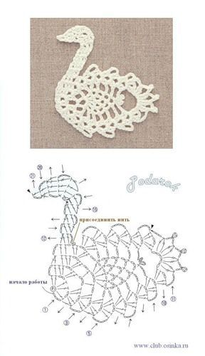 Crochetpedia: 2D Crochet Bird / Owl Applique Patterns: