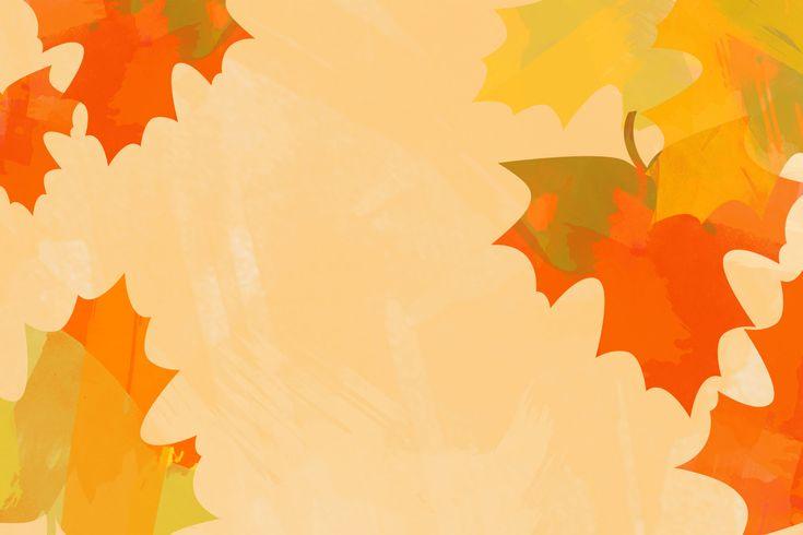 October / Fall desktop background