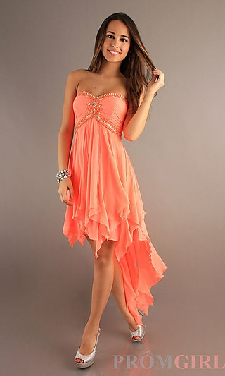 Long turnabout dresses