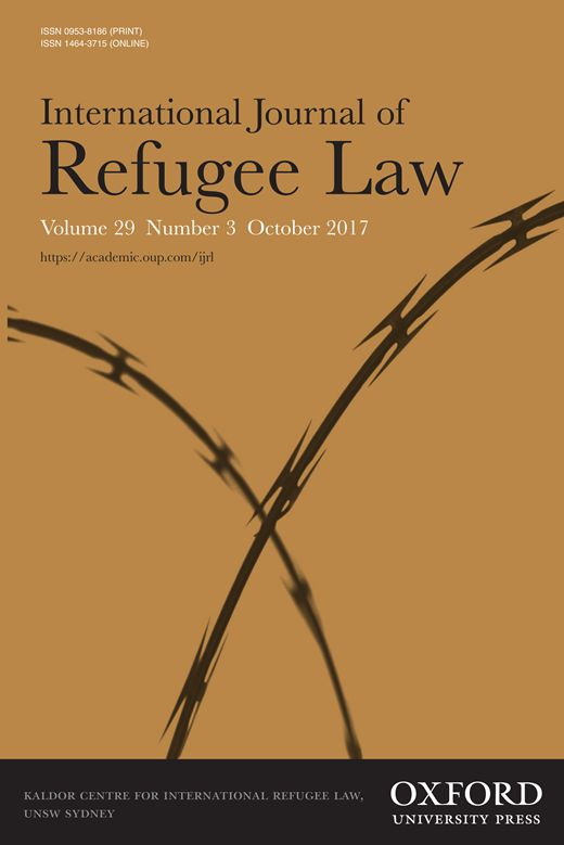 Nicolás Rodríguez Serna; Fleeing Cartels and Maras : International Protection Considerations and Profiles from the Northern Triangle , International Journal of Refugee Law, Volume 28, Issue 1, 1 March 2016, Pages 25–54, https://doi.org/10.1093/ijrl/eev061