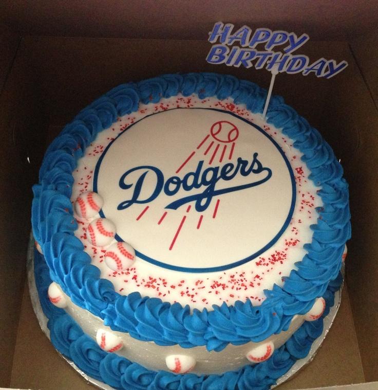 Dodger cake!