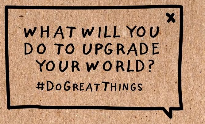 Kid President asks what we can do to upgrade our world #DoGreatThings #elemed #geniushour