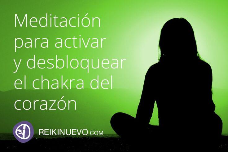 Meditación para activar y desbloquear el chakra del corazón