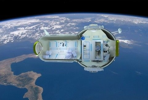 Το πρωτο ξενοδοχειο στο διαστημα φτανει…! Εσεις θα κανατε κρατηση ;