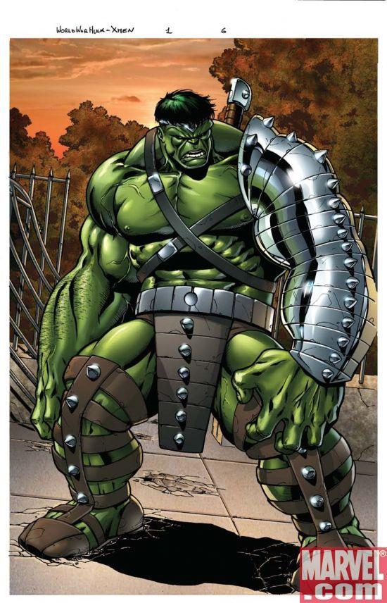 World War Hulk: X-Men #1 page 6