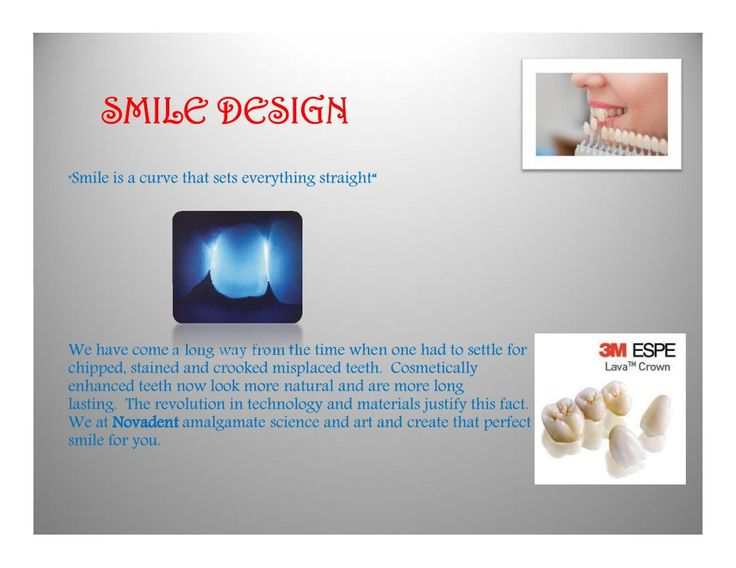 """SMILE DESIGN -Smile is a curve that sets everything straight""""       We have come a long way from the time when one had to settle for chipped, stained and crooked misplaced teeth. Cosmetically enhanced teeth now look more natural and are more long lasting. The revolution in technology and materials justify this fact. We at Novadent amalgamate science and art and create that perfect smile for you. #DentalTreatment #DentalClinic #DentalSpecialist #kannur #kerala #dentalclinic #dentalcare"""
