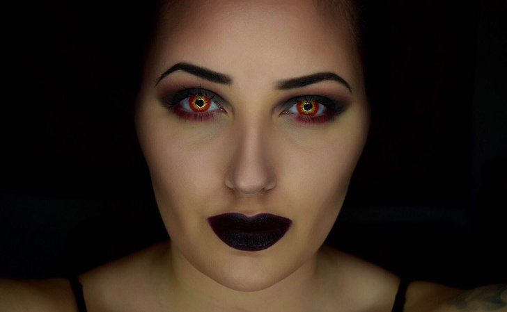 Pin for Later: 11 Otherworldly Star Wars Beauty Tutorials You'll Want to Try Dark Sith Makeover