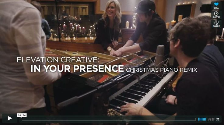 "Elevation Creative: In Your Presence (Christmas Piano Remix) Google  Alien YouthArmy Related posts: Hillsong Christmas – ""We Have A Saviour"".."