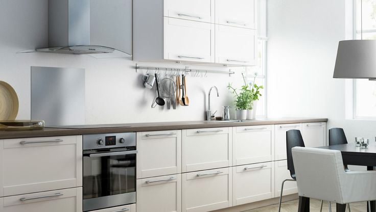 Kitchen With Grytn S Off White Drawer Fronts And Doors Tartu Ideed Pinterest Drawers