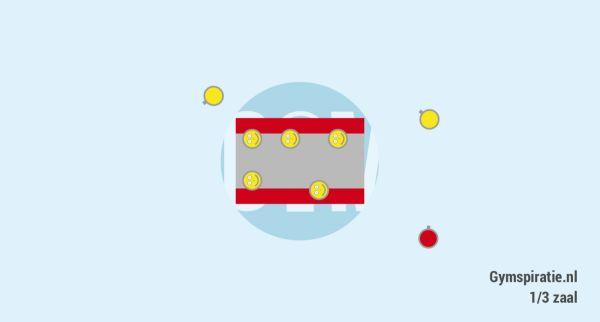 Popcorntikkertje - Tikker probeert iedere maïskorrel te tikken, de maïskorrels proberen te voorkomen dat ze getikt worden.