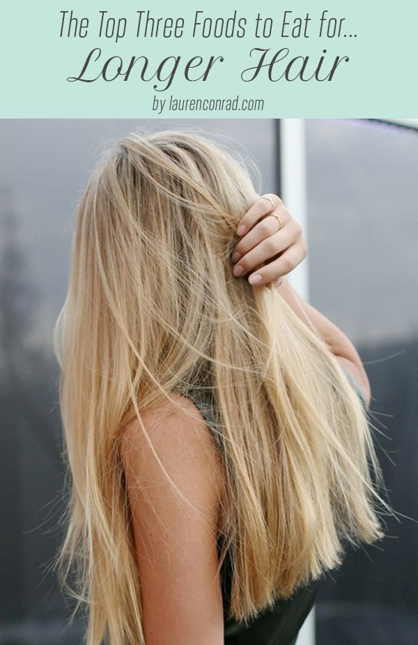 We're sharing the top 3 foods that will help you achieve those long locks you've been wanting!