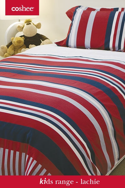 No more making the bed with these #Coshee bed sets. The white top sheet clips under the duvet cover for a great nights sleep for kids with no tangled sheets.