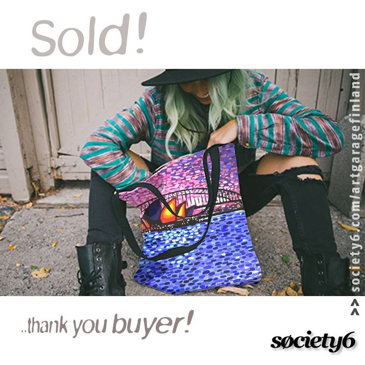 Sold!!!  ...thanks to the recent buyer of this 'Sydney Harbour' Tote bag design from my Society6 webshop! #bags #sydneyharbour #fashion #aussiestyle #sydneystyle #streetstyle #art #artist #artistsofinstagram #hoganbag #hoganfinland #society6totebag #instabag #instalike #instalikes #konst #taide #arte #kunst #artcollection #artcollectors #instaartist #artist_sharing #artsy #artcollective #streetlook #artlife #supportart #instafashion #womensfashion