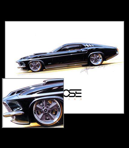 Best Sketches Foose Images On Pinterest Automotive Design