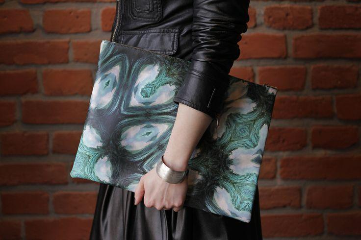 Orange Dream Limited99 clutch by Redream #bag #clutch #fashion #limited #print #Redream