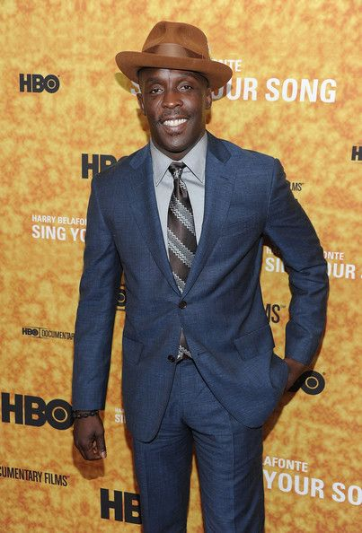 "michael k williams | Michael K Williams Actor Michael K. Williams attends the ""Sing Your ..."