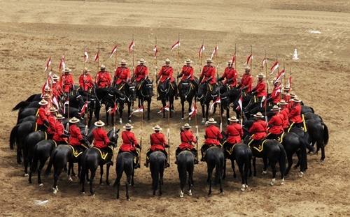 Calgary Stampede RCMP Musical Ride