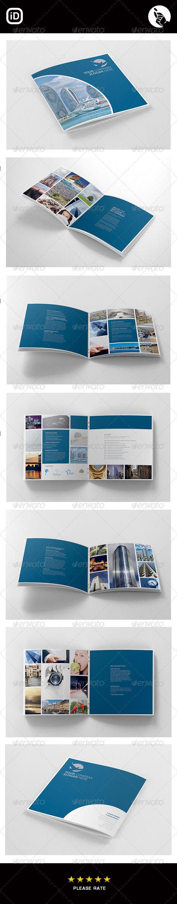 Corporate Square 12 Page Brochure