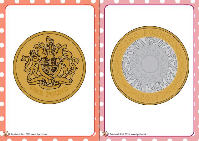 teacher 39 s pet british coin flash cards free classroom display resource eyfs ks1 ks2. Black Bedroom Furniture Sets. Home Design Ideas