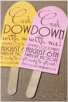 Summer Party, uitnodigingen feestje hawaii