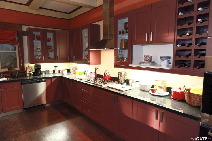 Rafe McCawley's kitchen #Defiance set Tour courtesy of  W. Andrew Powell editor@thegate.ca http://www.thegate.ca/spotlight/012808/defiance-set-tour-exploring-the-new-world-with-the-cast-and-filmmakers/#