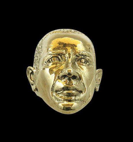 Bronze President Obama Ring from Jax Biker Jewellery by DaWanda.com