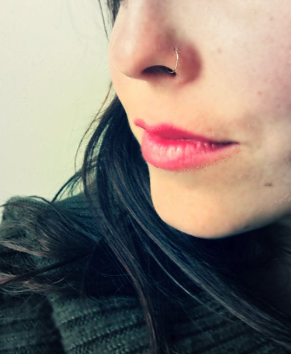 gold nose ring.... yes or no? stud or infinity?