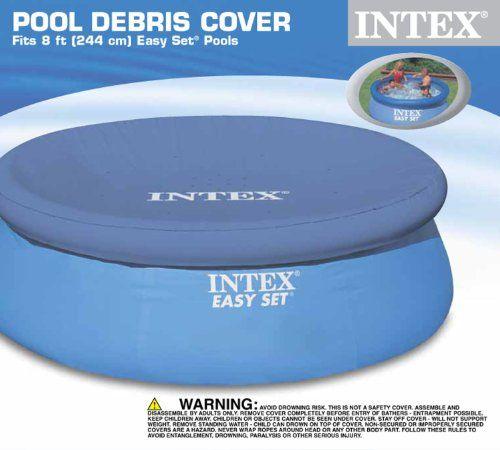 Intex Bâche pour piscine Easy: Convient pour: piscine Intex Easy Set Matériau: polyéthylène haute qualité Chevauchement: 30cm Cet…