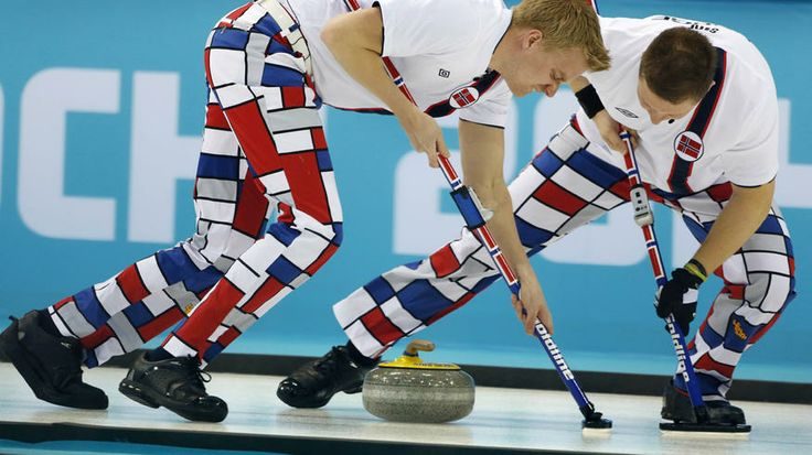 Norway's Haavard Vad Petersson, left, and Christoffer Svae