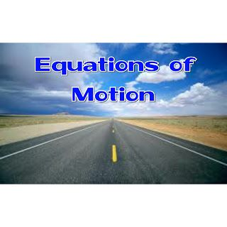Equations of Motion     In my last article The definition and types of Motion were discussed. Now this is an article to better understand Equations of motion with several questions solved.  Related Terms  Displacement: Itis the distance moved in a specified direction. It is a vector quantity.  Distance: Itis the magnitude of separation between two points. It is a scalar quantity.  Speed: It is the rate of change of distance with time. It is a scalar quantity.  Velocity: It is the rate of…