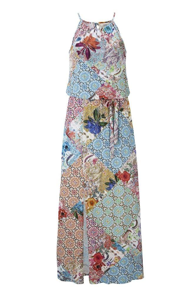 Heine Kleid Damen, bunt, Größe 48 in 2020   Viskose kleid ...
