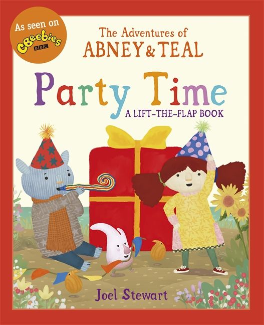 Abney & Teal: Party Time - fabulously fun flap book