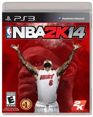 NBA 2K14 - Playstation 3 by 2K Sports,   NBA 2K14 marks the return of the world's biggest and best NBA video game franchise. 2K14 joins forces with the league's most dominant force: LeBron James. With a soundtrack hand-picked by the King, refined controls featuring the new Pro Stick, the return of Crews, new Signature Skills, enhanced defense including blocked dunks, and more, NBA 2K14 will raise the bar yet again.