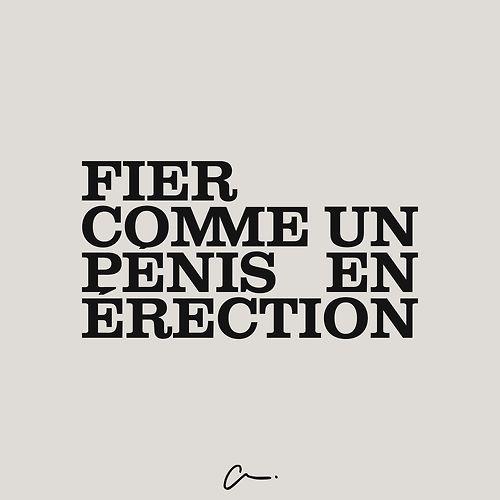 Fier comme un #penis en érection #LesCartons