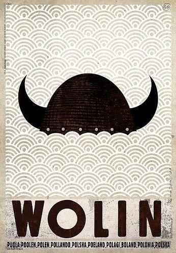 WolinZobacz też inne plakaty z serii PLAKAT-POLSKA Oryginalny polski plakatautor plakatu: Ryszard Kaja  data druku: 2016 wymiary plakatu: B1, 68x98cm