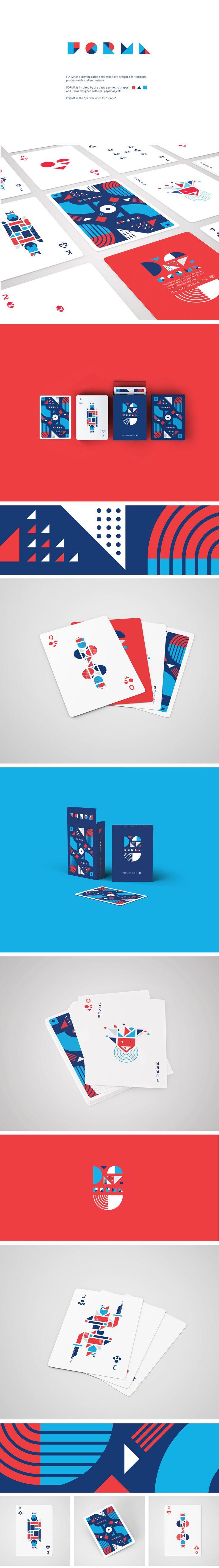 """FORMA card deck"" by Ale Urrutia"
