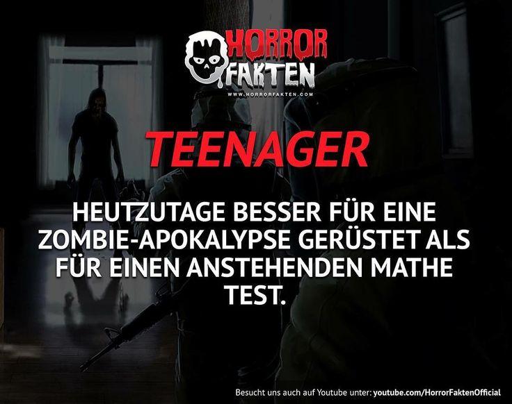 ❝Die Jugend heutzutage❞  #horrorfakten
